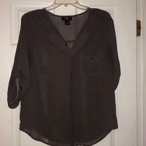 Women's Gray dress top